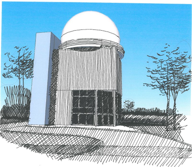 Architect rendering of the NADRM